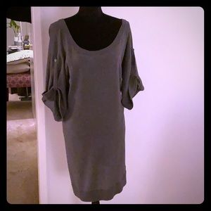 Gray Banana Republic Sweater Dress - sz Medium